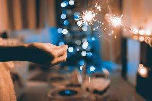 Enjoy the season with sparklers