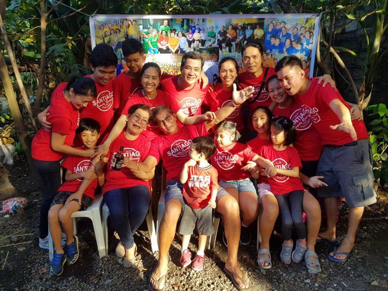 Philippine family reunion